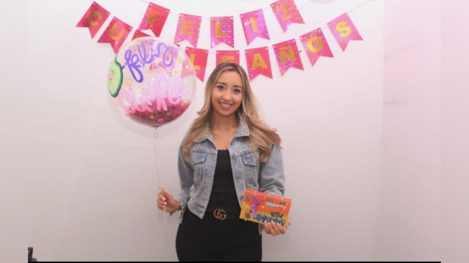 Cumpleaños de Lina