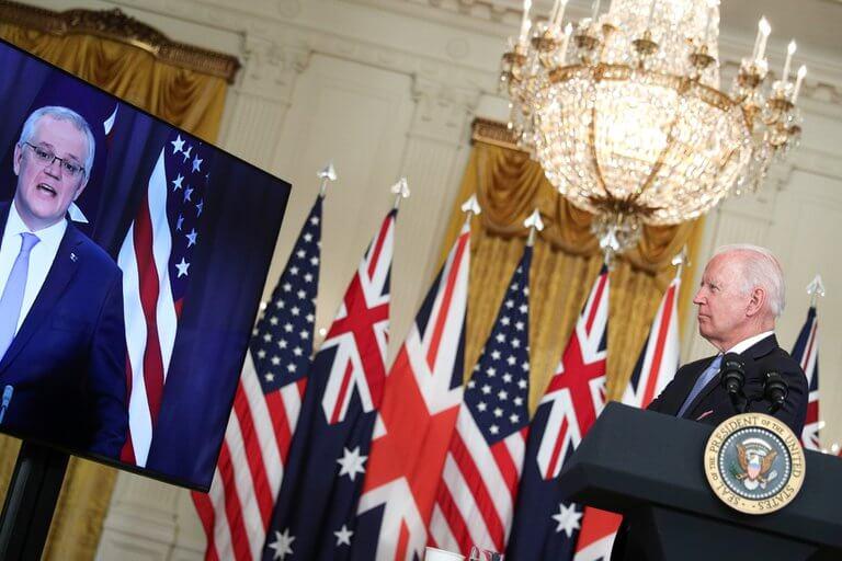 Australia, EE.UU y el Reino Unido llegaron a un histórico acuerdo
