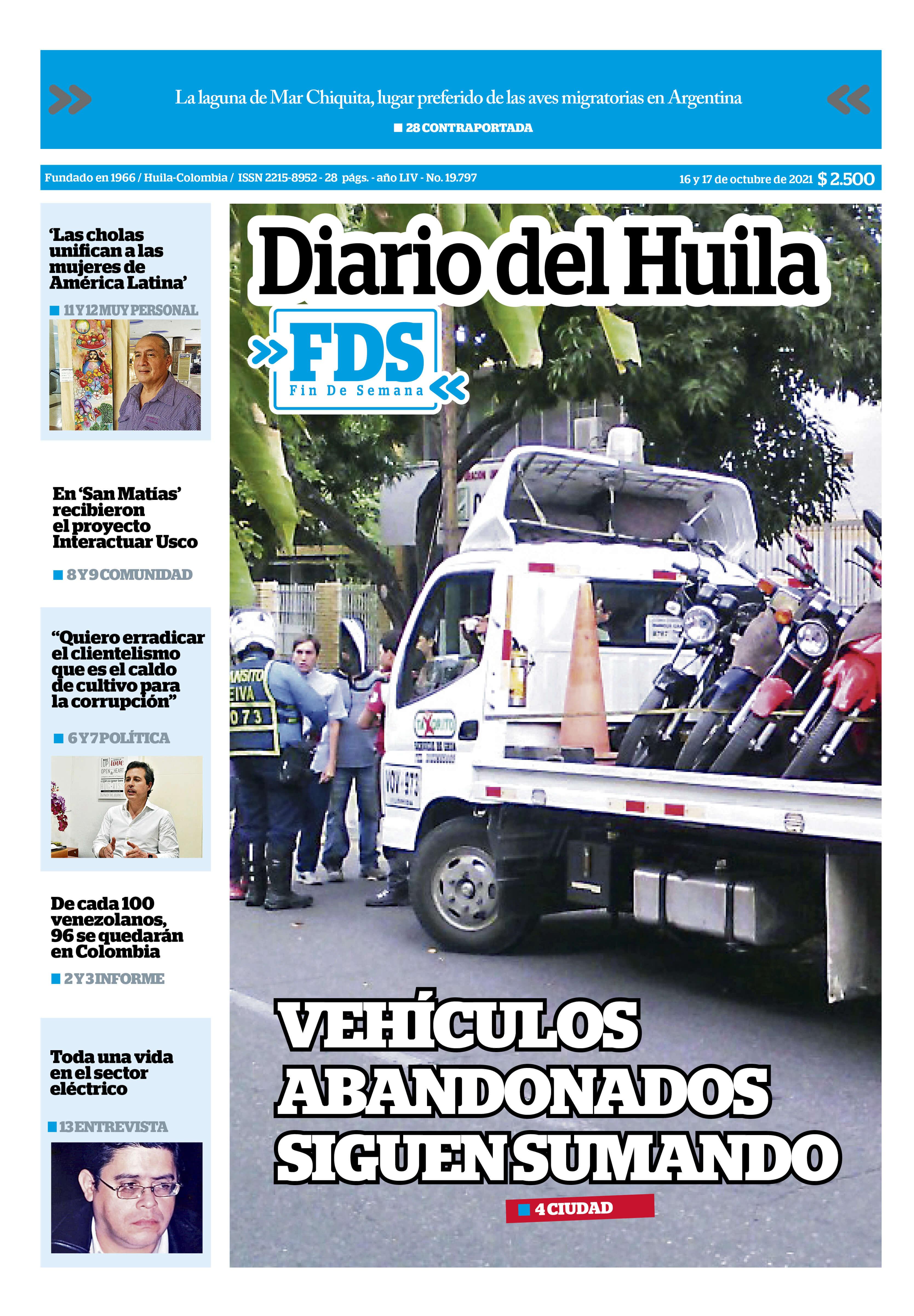 Diario del Huila 16 y 17 de octubre de 2021