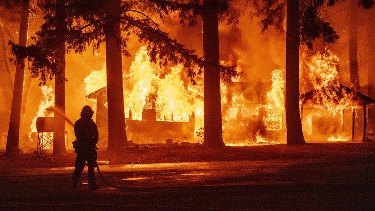Más de 99 mil hectáreas calcinadas por incendio forestal en California