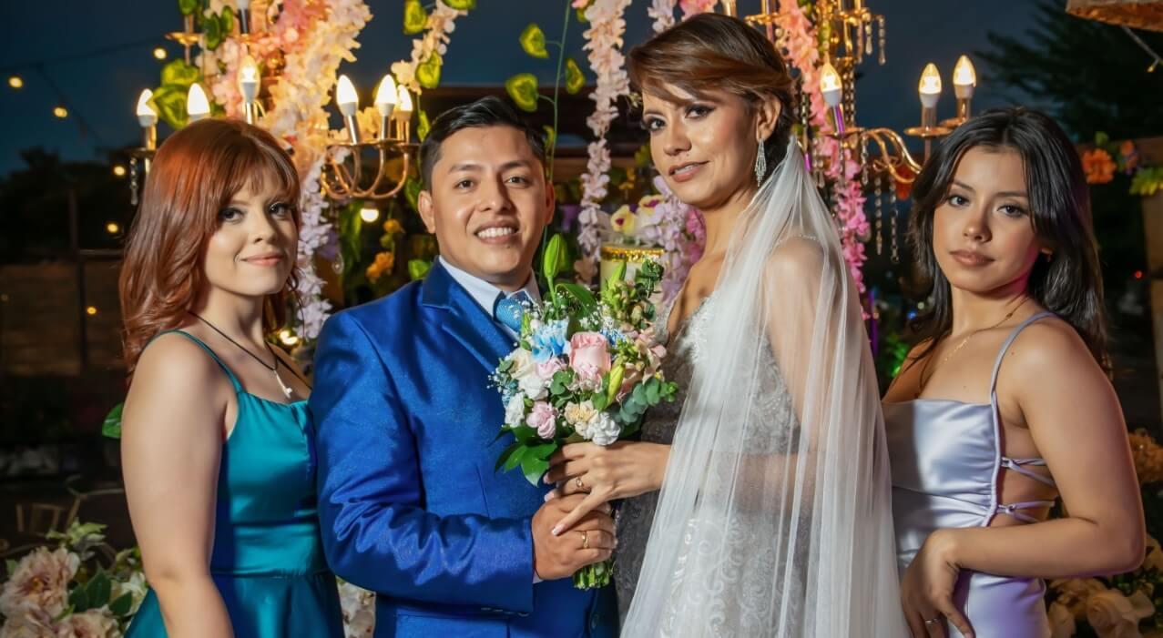 Matrimonio de Daniel Felipe Gómez Claros y Nidia Esnith Uchuo
