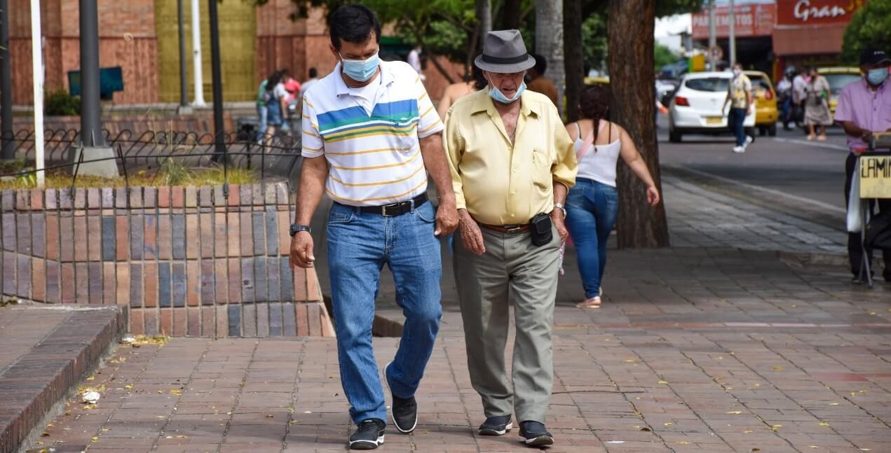 """""""Los colombianos le están perdiendo el miedo al covid"""""""