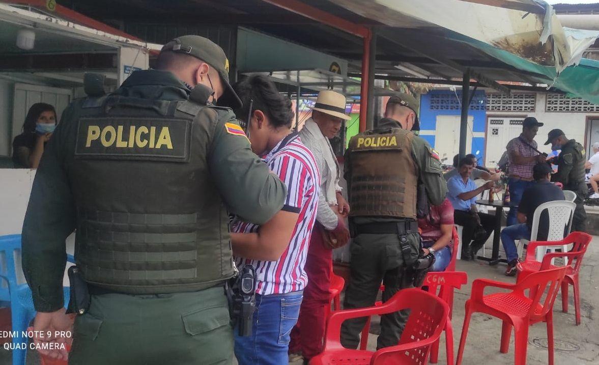 Capturadas 18 personas durante fin de semana en el Huila