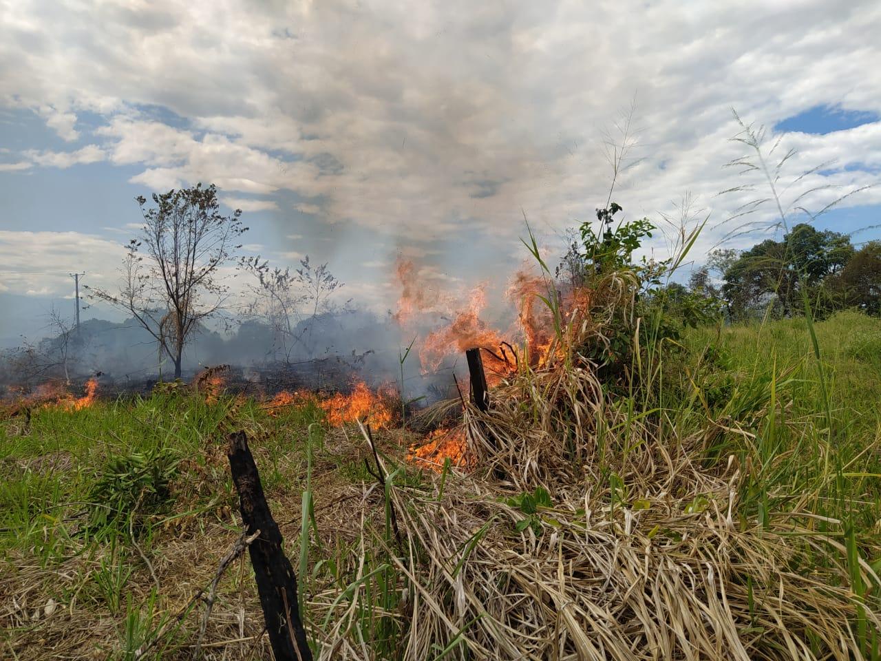 Incendios forestales en el Huila no dan tregua