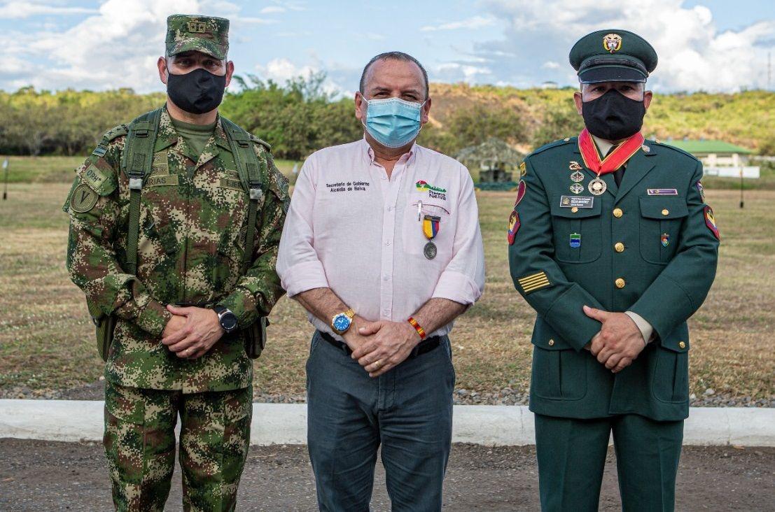 Ceremonia 211 años del Ejército Nacional