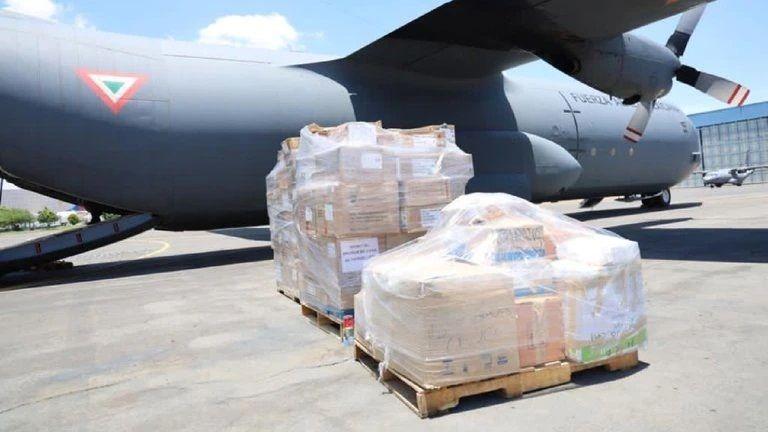 Después de terremoto, México envía toneladas de ayuda humanitaria a Haití