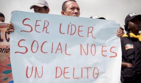 De nuevo líderes sociales amenazados