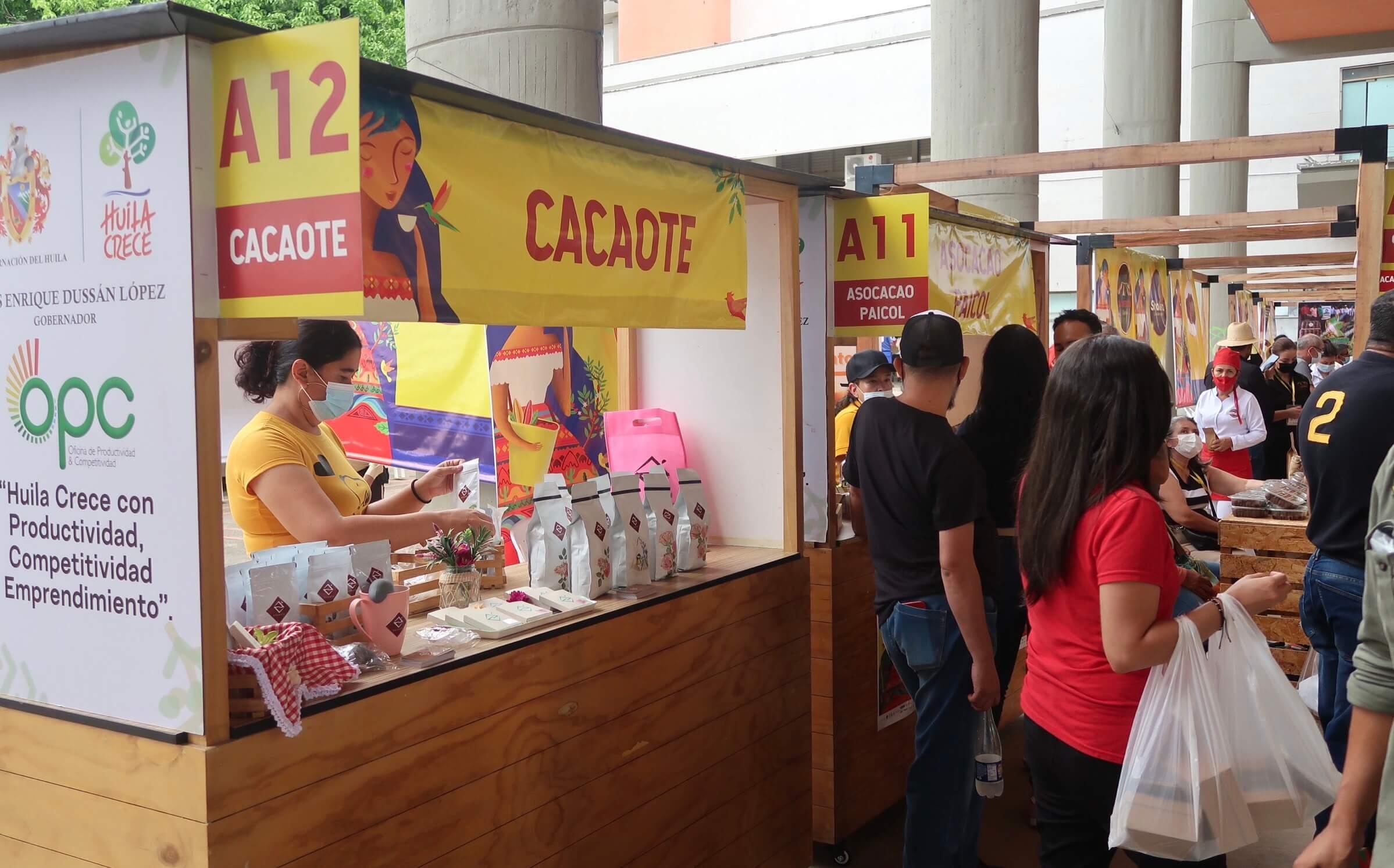 Feria del café y del cacao salió victoriosa