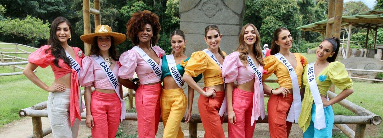 El recorrido de Miss Universo por el Huila