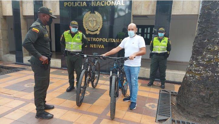 Recuperaron dos bicicletas que habían sido hurtadas