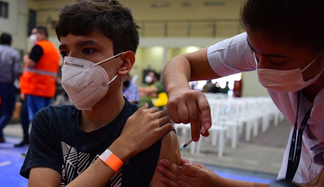 Vacunación contra el Covid-19 para la población de 12 a 14 años comienza este sábado