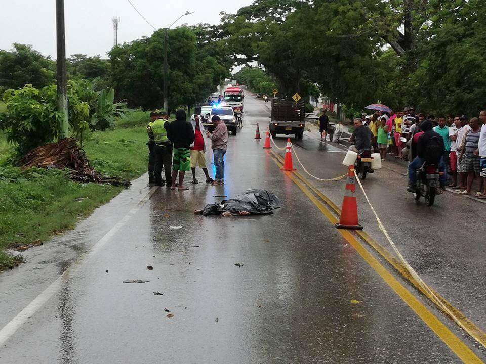 Peatón muere arrollado en la vía Garzón-Neiva