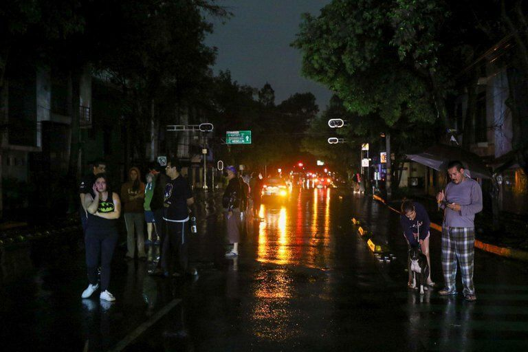 Las impactantes imágenes del sismo de 7.1 grados que sacudió México