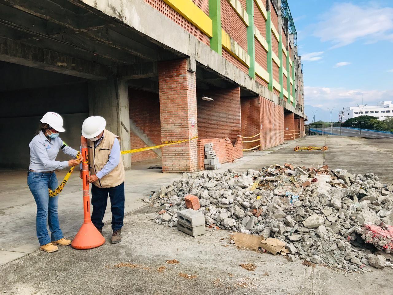 Después de cinco años reiniciaron obras en el Estadio de Neiva