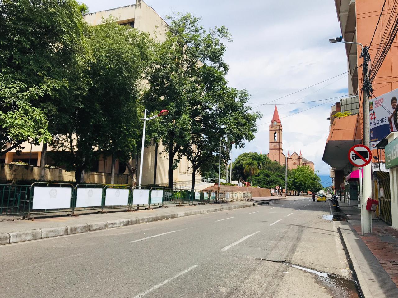Medidas en Neiva por marcha del siete de agosto