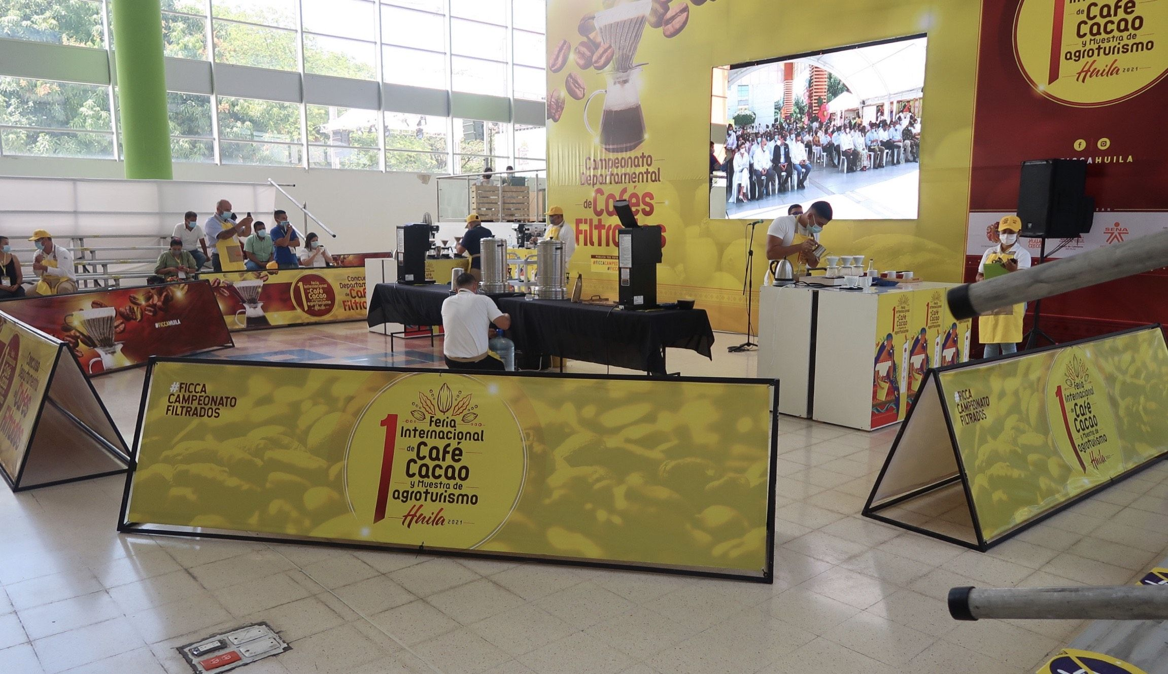 Inaugurada Feria en medio de grandes expectativas
