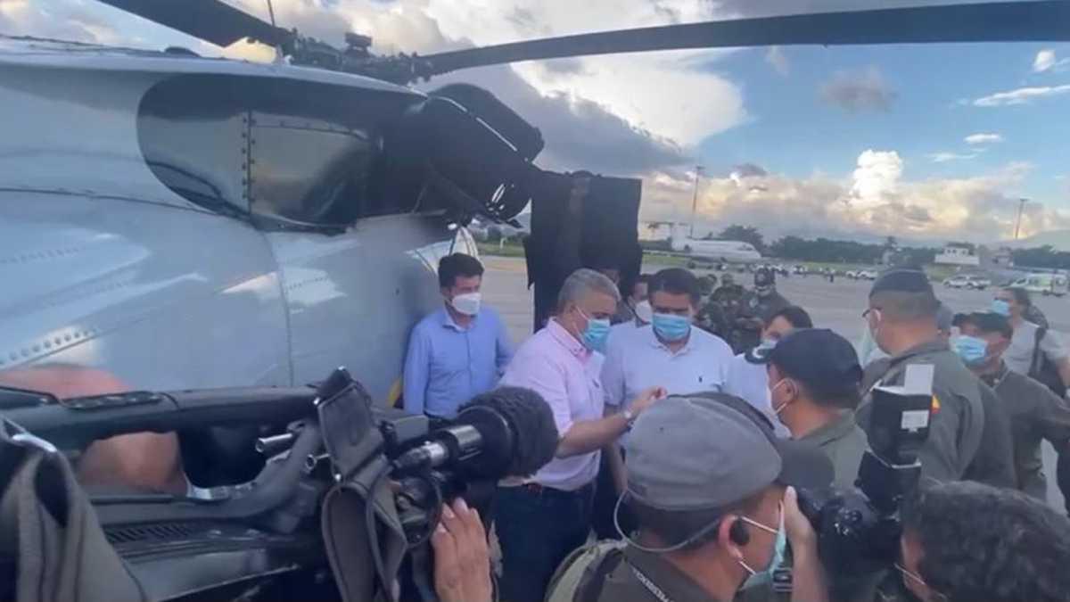 Hasta el momento son ocho los capturados por atentado contra el presidente Duque