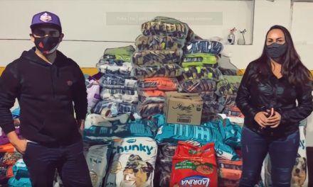 Donan más de 15 mil toneladas de purina a animales afectados por huracán Iota en Providencia