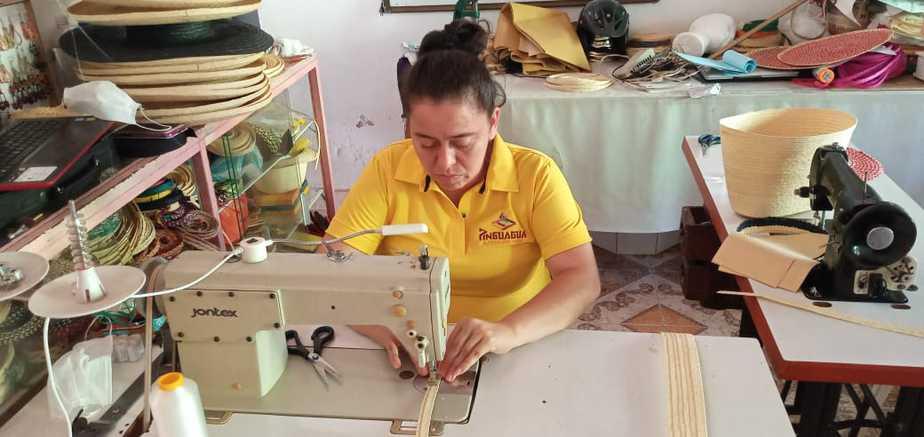 Luego de ser víctima del conflicto armado, Lina Marcela conoció el bello arte del pindo