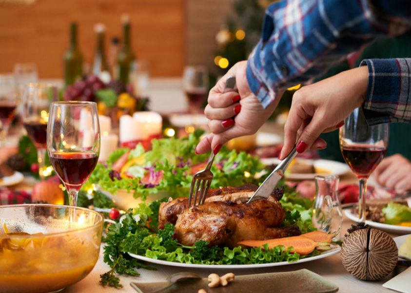 Cuidados alimenticios para le época decembrina