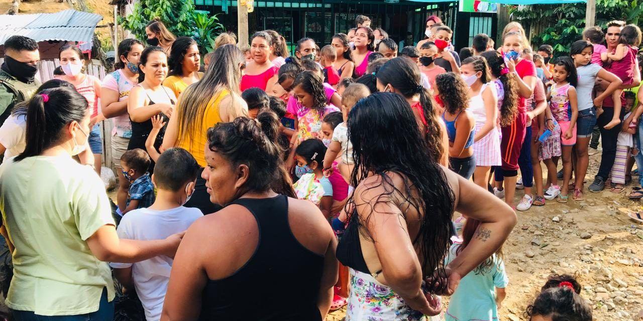 Donatón Navideña, hizo felices a más de 300 niños