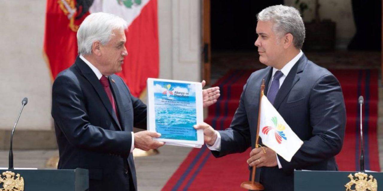 Colombia asumió la presidencia pro tempore de la Alianza del Pacífico