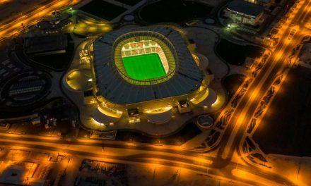 Este es el nuevo estadio que presentó Qatar camino al Mundial 2022