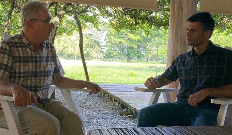 Uribe y Leopoldo López se reunieron en la finca en 'El Ubérrimo'