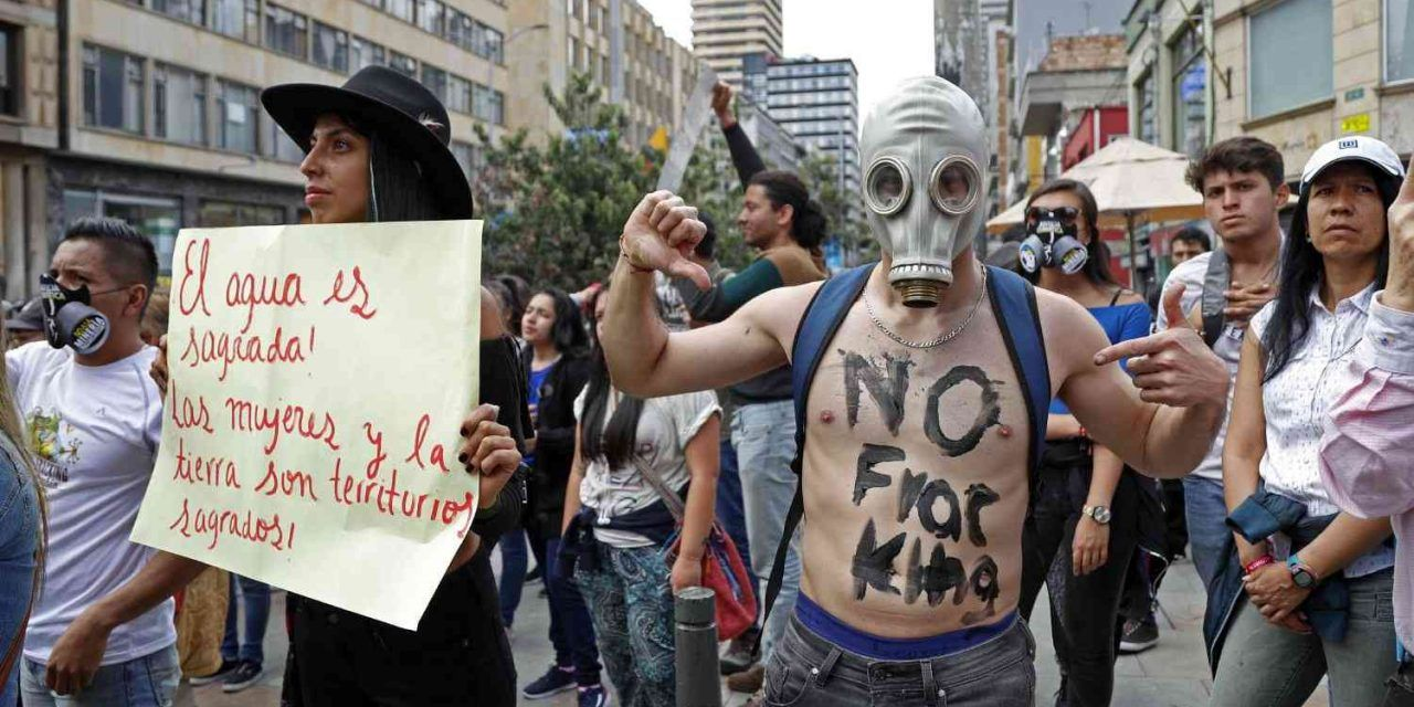 Ambientalistas marcharán contra el fracking en Colombia