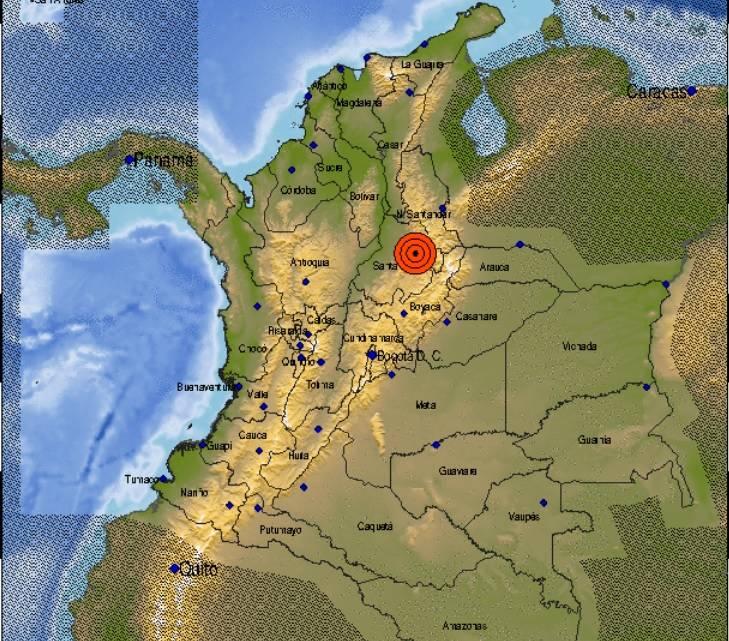 Sismo de 4.5 sacudió varias zonas del país