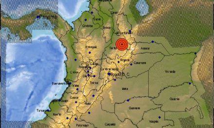 Fuerte temblor de 5.0 sacudió el centro del país