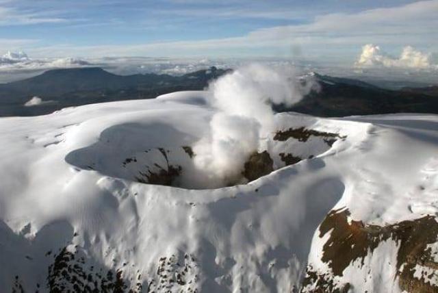 Nevado del Ruiz aumentó su actividad sísmica