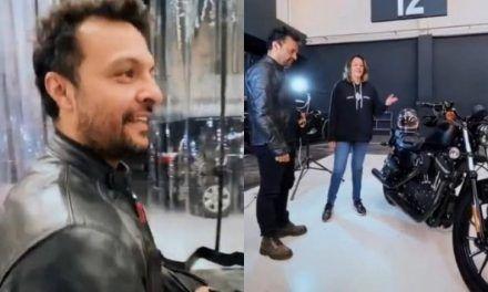 Actor Julián Román respondió a sus contradictores, tras comprar una Harley