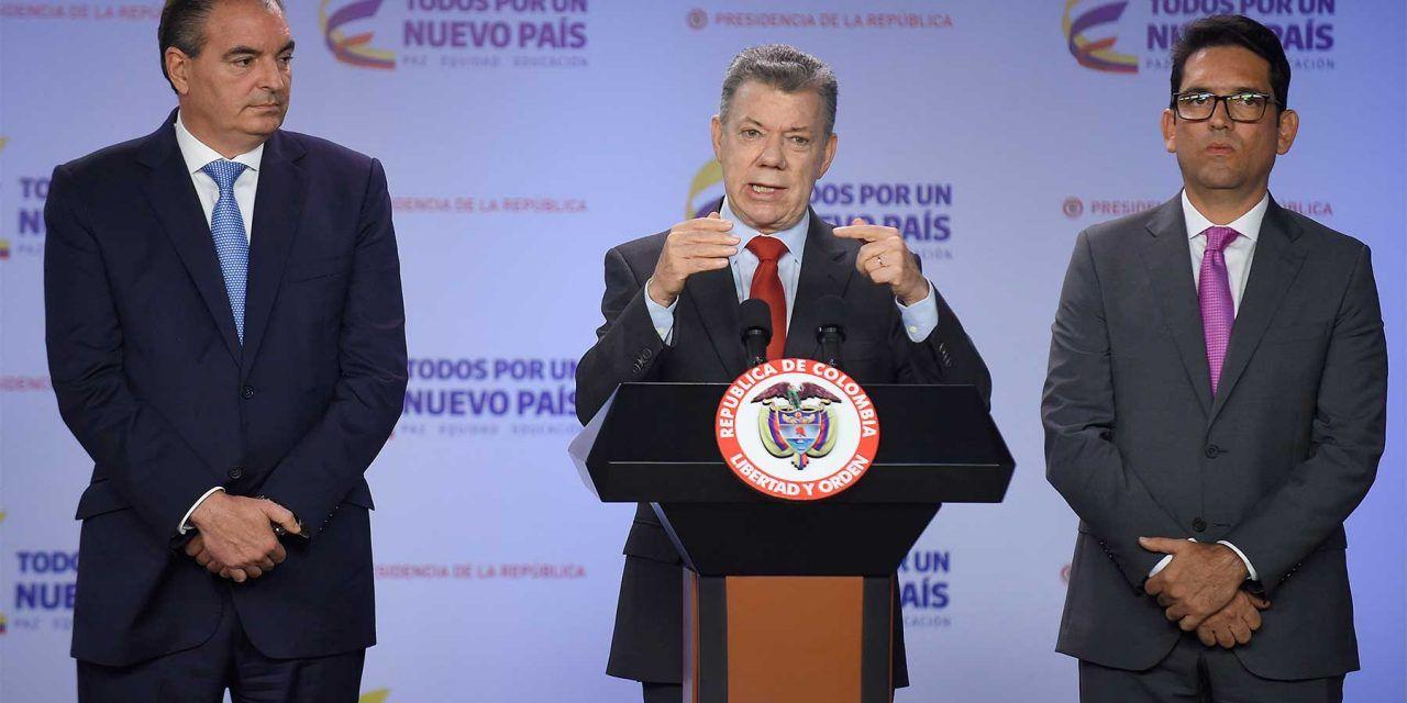 Ex presidente Santos ante la Comisión de la Verdad
