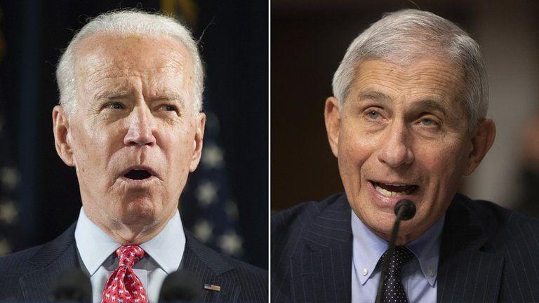 Joe Biden confirmó que Anthony Fauci seguirá al frente del equipo especial contra el coronavirus