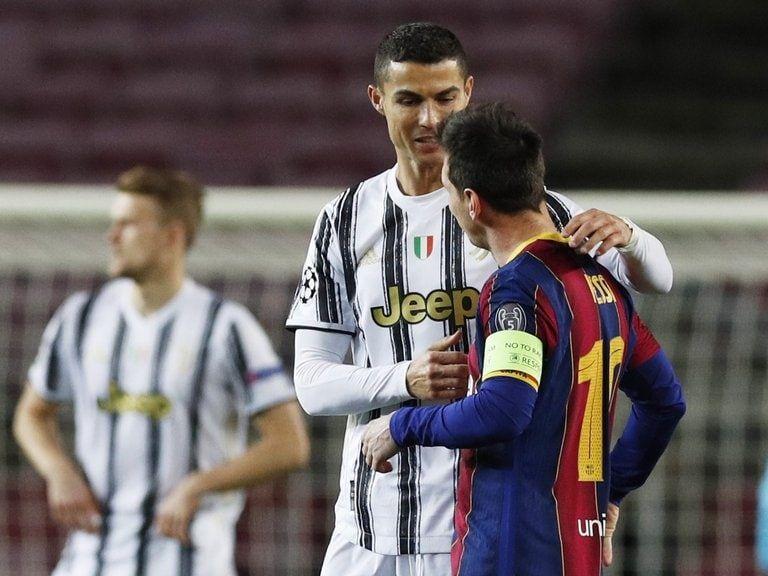 Con dos goles de penal de Cristiano Ronaldo, Juventus le ganó al Barcelona de Messi en la Champions