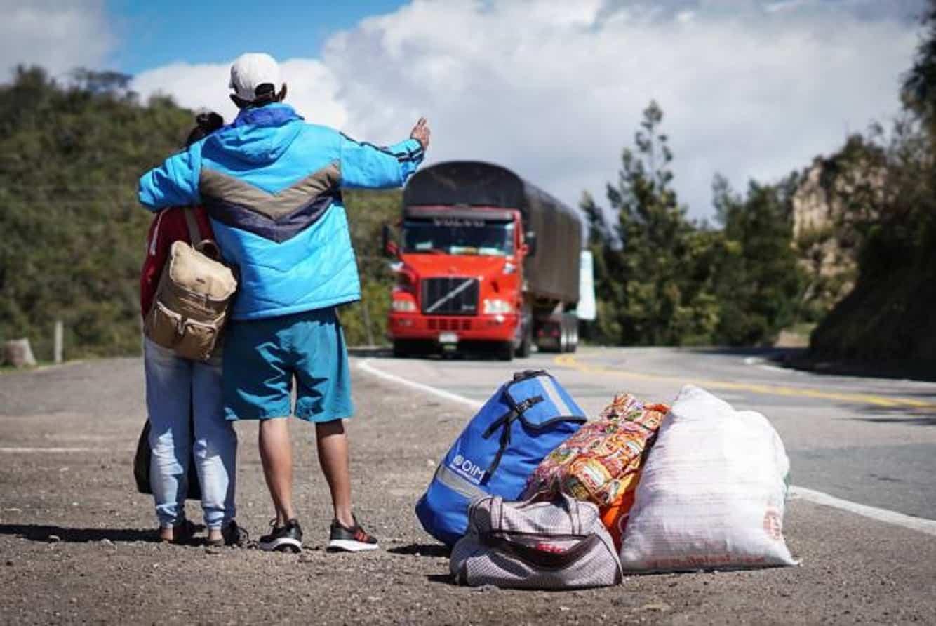 Henry Corredor, director de Migración Colombia regional Centro Sur se reunió con el secretario de Gobierno de la Alcaldía de Neiva, Faiver Hoyos, para tratar el tema de los venezolanos en la ciudad.