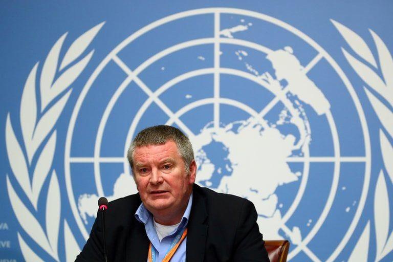 Mike Ryan, director ejecutivo de la OMS para Emergencias Sanitarias (REUTERS/Denis Balibouse).