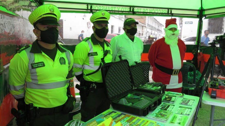 Un componente de 140 uniformados de la Seccional de Tránsito y Transporte del Departamento de Policía Huila.