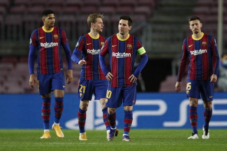 El Barcelona de Lionel Messi no pudo asegurar el liderazgo en su grupo de la Champions (REUTERS).