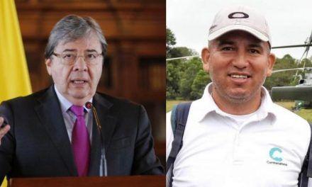 Ministro de Defensa ofrece recompensa tras el asesinato del coordinador ambiental de Cormacarena