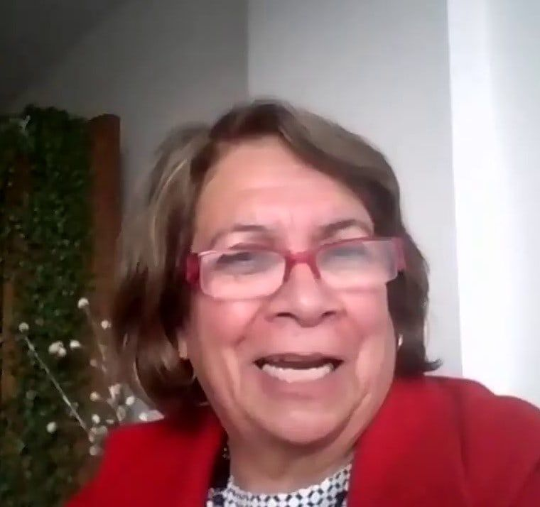 Aida Avella, senadora.