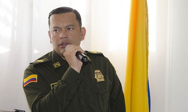 Coronel Diego Fernando Vásquez Arguello, nuevo comandante de Policía Metropolitana de Neiva
