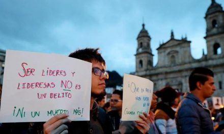 Violencia contra líderes sociales aumentó en 2020