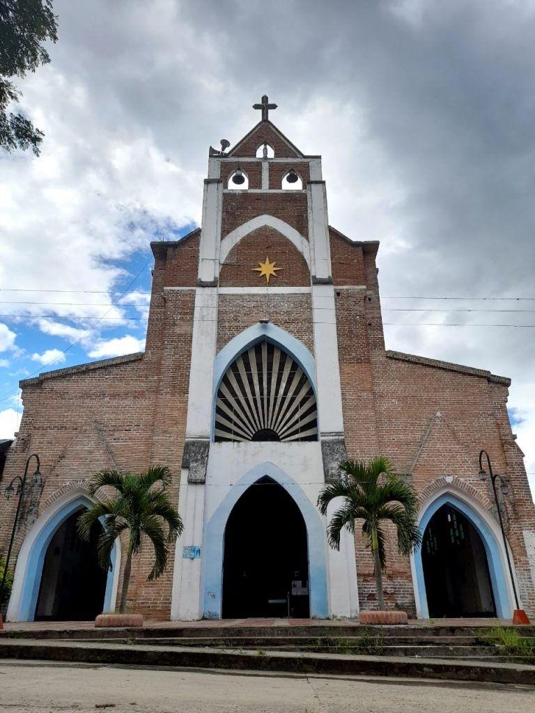 El recorrido empezará en la Parroquia Nuestra Señora de Lourdes, el recinto guarda el reflejo de la violencia en el municipio.