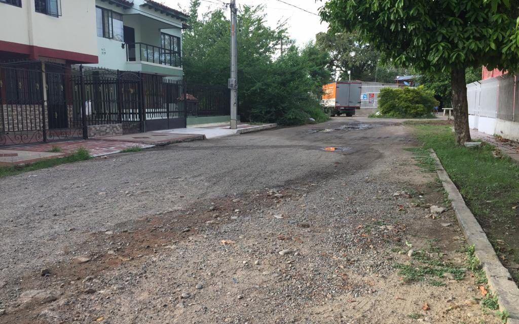 Principales vías del barrio Sevilla, un problema para los residentes del sector