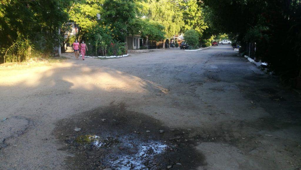 Principales vías del barrio Madrigal se encuentran en mal estado
