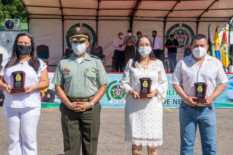 Los reconocimientos se hicieron en el marco de la conmemoración del aniversario número 129 de la Policía Nacional.