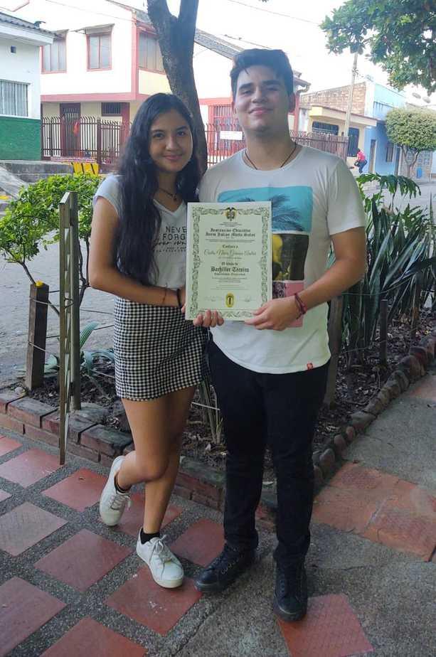Valentina celia y Germán Castro