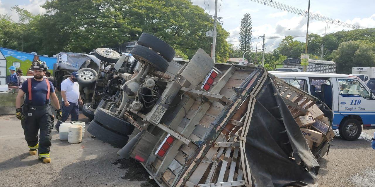 Accidente múltiple dejó seis heridos en Avenida Circunvalar en Neiva
